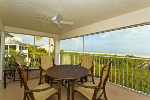 Balcony view at Casa Ybel Resort.