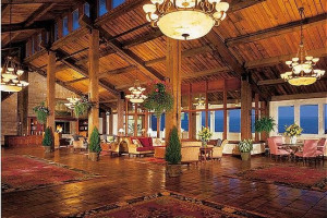 Lobby Area at The Samoset Resort
