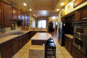 Vacation rental kitchen at SkyRun Vacation Rentals - Scottsdale, Arizona.