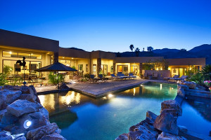 Vacation rental exterior at Greater Palm Springs Realty.