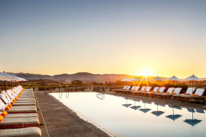 Outdoor pool at The Carneros Inn.