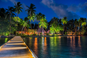 Exterior view of Jean-Michel Cousteau Fiji Islands Resort.