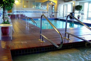 Pool Area at ClubHouse Inn
