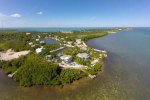 Aerial view of rental at Keys Holiday Rentals, Inc.