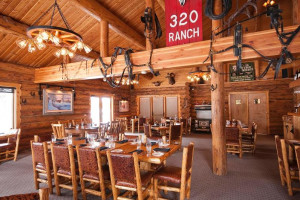 Dining at 320 Guest Ranch.