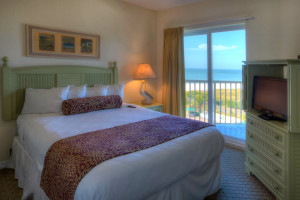 Guest bedroom at Sunset Vistas.