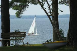 Lake activities at Gull Four Seasons Resort.