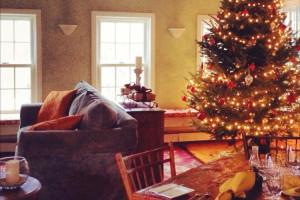 Christmas at The Red Clover Inn & Restaurant.