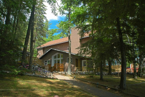 Exterior view of White Birch Village Resort.
