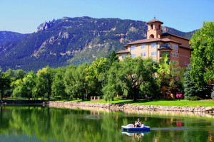 Exterior view of The Broadmoor.