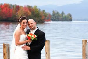 Wedding at The Georgian Lakeside Resort.