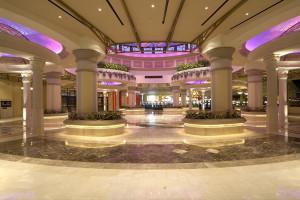 Lobby at Dover Downs Hotel & Casino.