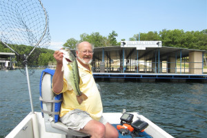 Fishing at Mill Creek Resort on Table Rock Lake