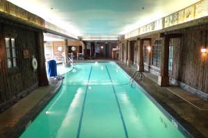 Indoor pool at Mirror Lake Inn Resort & Spa.