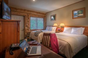 spacious guestrooms