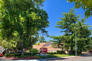 Exterior view of Residence Inn San Jose Campbell.