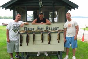 Fishing at Daisy Bay Resort.