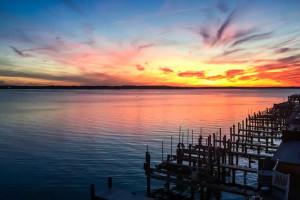Fishing docks at Century 21 New Horizon.