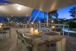 Dining at Chogogo Resort.
