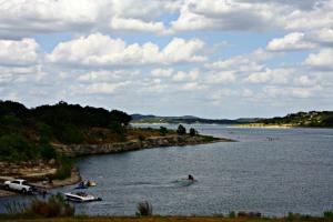 Lake view at SkyRun Vacation Rentals - Texas Hill Country.