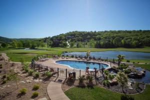 Outdoor pool at Old Kinderhook Resort & Golf Club.