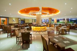 Dining at Ibis Mangga Dua.