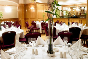 Dining Setup at Ramada Portrush