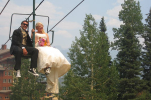 Wedding Couple at Durango Mountain Resort