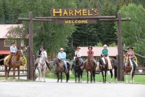 Group at Harmels Ranch Resort.