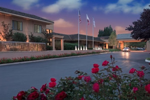 Exterior view of Napa Valley Marriott Hotel and Spa.