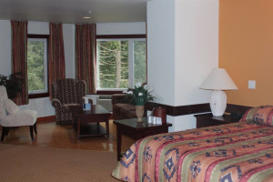 Guest room at Carson Hot Springs Spa.