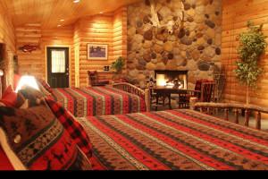 Bedroom at Deep Creek Fishing Club.