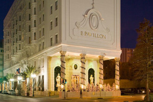 Exterior View of Le Pavillon Hotel
