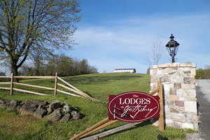 Entrance to The Lodges at Gettysburg.