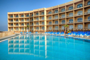 Outdoor pool at Paradise Bay Hotel.