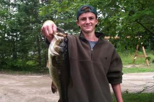 Fishing at Elbow Lake Lodge.