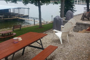 Grassy Lake Front at Lake Breeze Resort