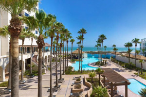 Outdoor Pool at the Pearl South Padre Hotel