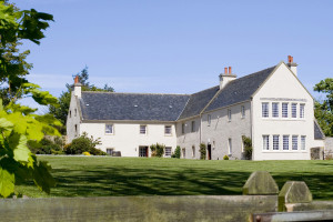 Exterior view of Glenmorangie House.