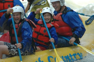 Family Rafting at North Country Rivers