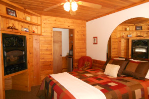Guest room at Heavenly Valley Lodge.