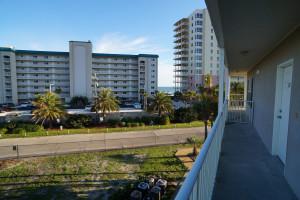 Rental balcony at Grand Caribbean Resort.