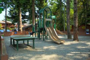 Kid's playground at Tigh-Na-Mara Resort.