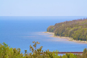 Lake view at Bay Breeze Resort.