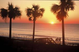 Sunset at Caribbean Resort & Villas.