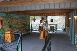 Interior view of Cedar Wood Inn.