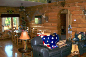 Resort interior at Deer Haven Acres.