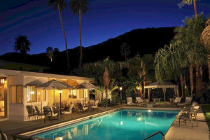 Outdoor pool at Calla Lily Inn.