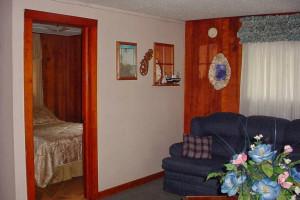 Guest room at Spring Creek Resort.