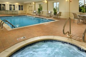 Indoor Pool at Holiday Inn Express Chambersburg